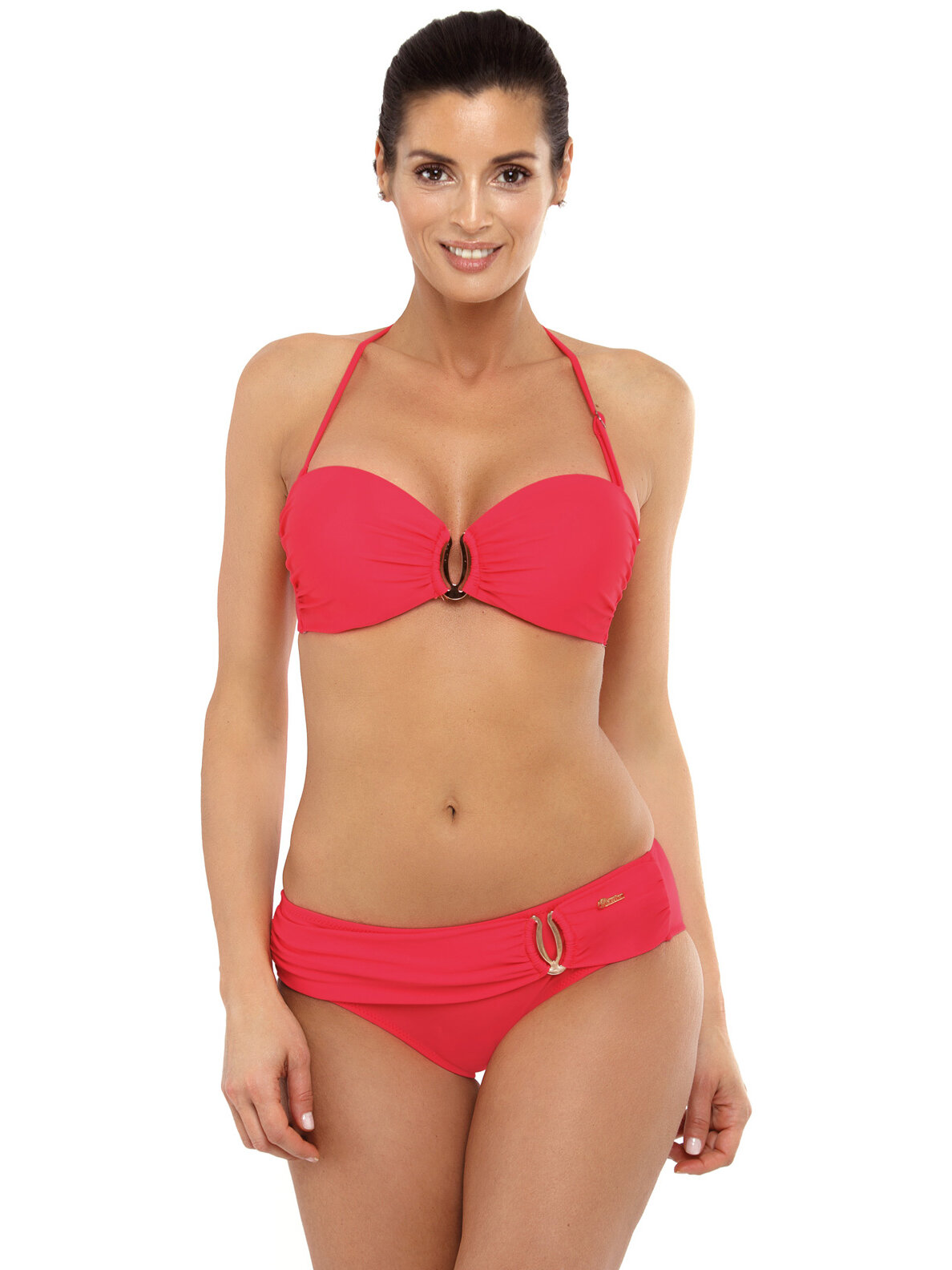 Costum de baie Cameron Shock Red Rosu
